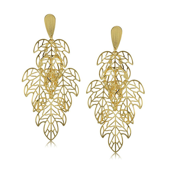 10583R 18K Gold Layered Earring