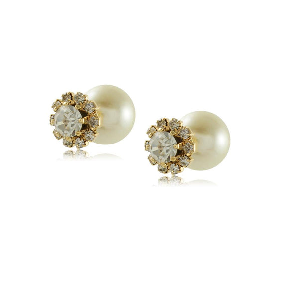 10590R 18K Gold Layered Earring