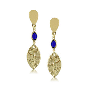 10691R 18K Gold Layered Earring