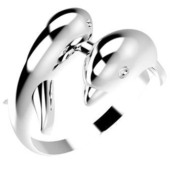 10829P  925 Silver Women's Ring