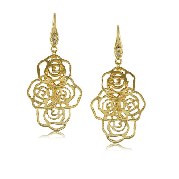 11653R 18K Gold Layered Earring
