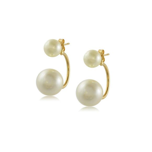 11654R 18K Gold Layered Earring
