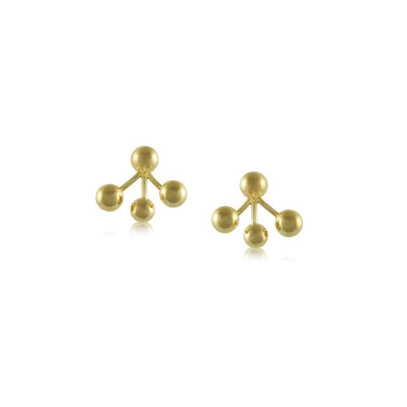 11662R 18K Gold Layered Earring