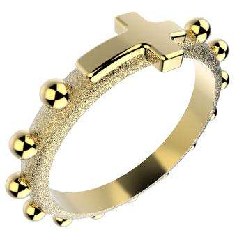 11688 18K Gold Layered Women's Ring
