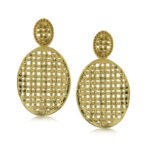 11713R 18K Gold Layered Earring