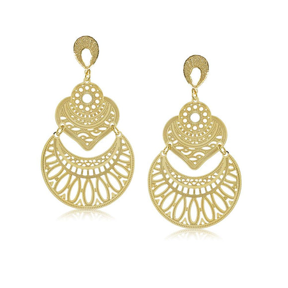 11738R 18K Gold Layered  Earring