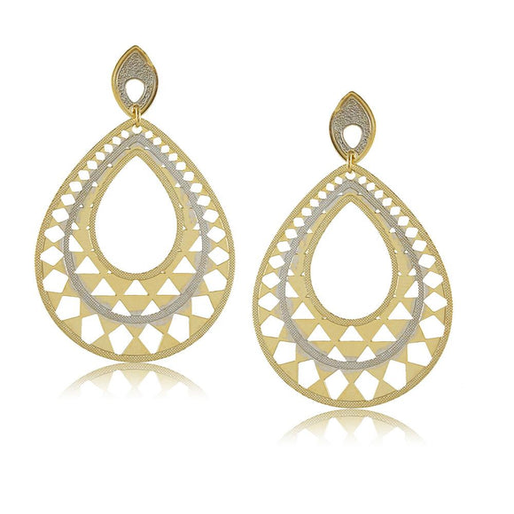 11746R 18K Gold Layered Earring