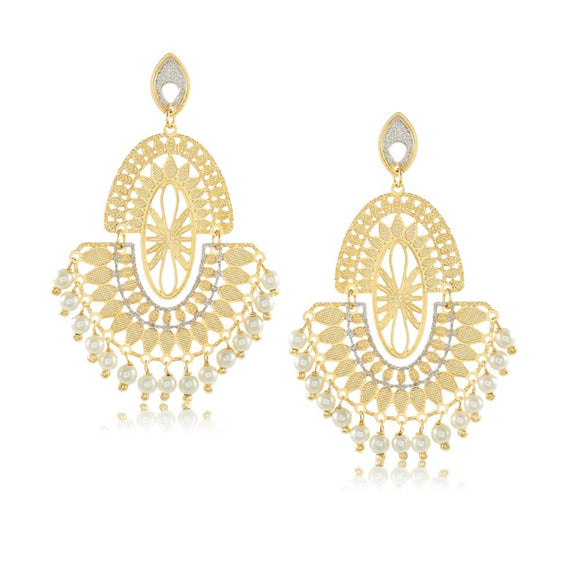 11752R 18K Gold Layered Earring