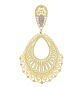 11757R 18K Gold Layered Earring