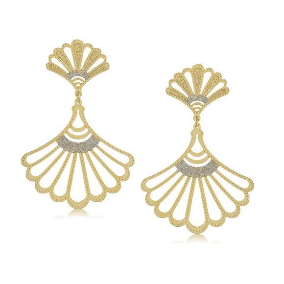 11772R 18K Gold Layered Earring