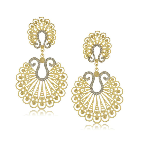 11779R 18K Gold Layered Earring