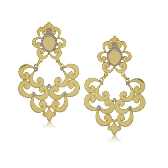 11792R 18K Gold Layered Earring
