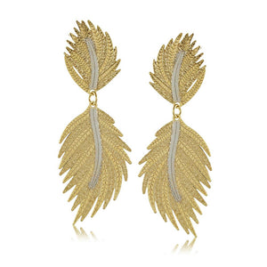 11793R 18K Gold Layered Earring