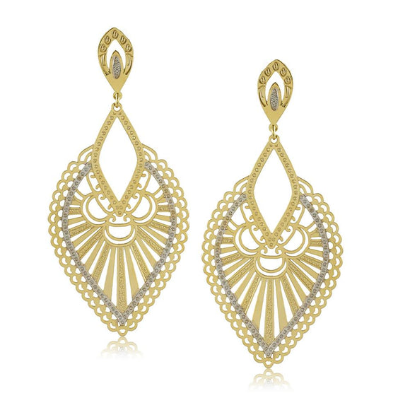 11796R 18K Gold Layered Earring