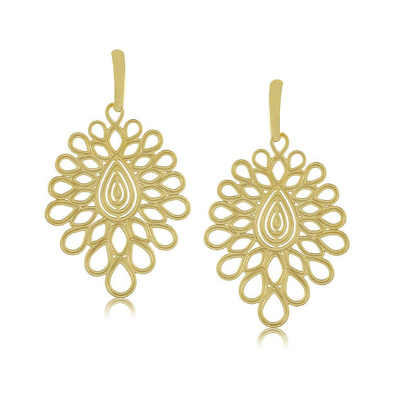 11803R 18K Gold Layered Earring