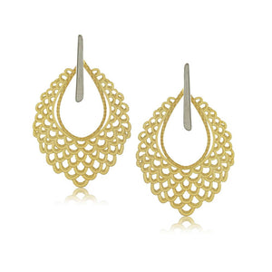 11805R 18K Gold Layered Earring