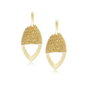 12061R 18K Gold Layered Earring