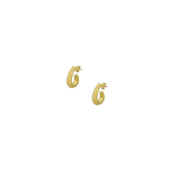 12296R 18K Gold Layered  Earring