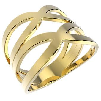 12407 18K Gold Layered Ring