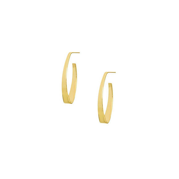 12417R 18K Gold Layered  Earring