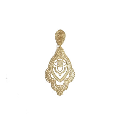 12639R 18K Gold Layered Earring
