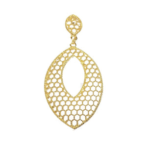 12657R 18K Gold Layered Earring