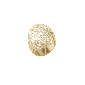 12850v 18K Gold Layered Women's Ring Rose Gold