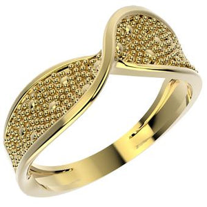12854 18K Gold Layered Ring