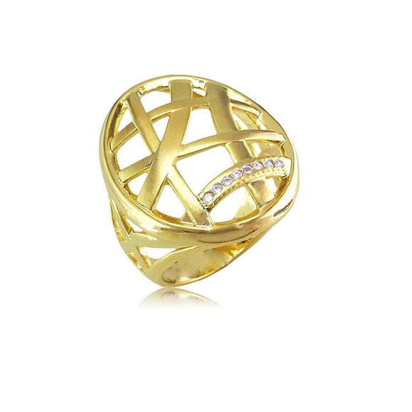 12952 18K Gold Layered Women's Ring