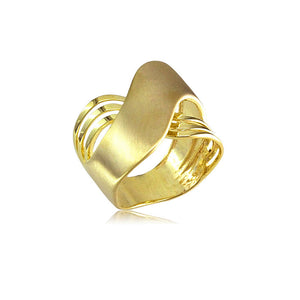 13313 Brushed Women's Ring