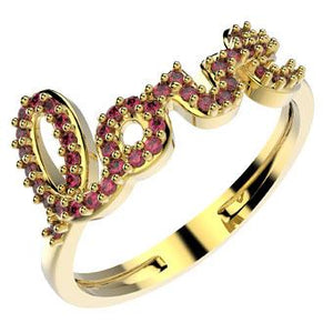 14086 18K Gold Layered CZ Ring