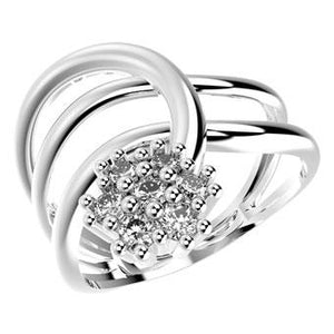 14099P - CZ 925 Sterling Silver Ring