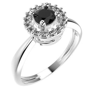 14192P - CZ 925 Sterling Silver Ring