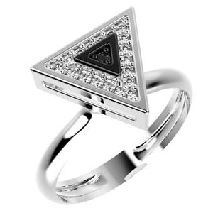 14201P - CZ 925 Sterling Silver Ring