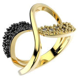 14226 18K Gold Layered CZ Ring