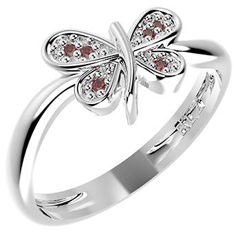 14246P - CZ 925 Sterling Silver Ring