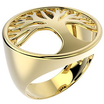 14265 18K Gold Layered Ring