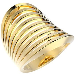 14321 18K Gold Layered Ring