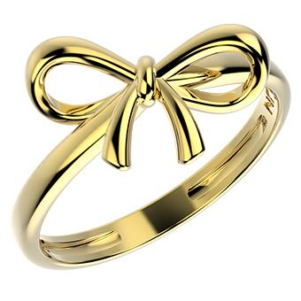 14372 18K Gold Layered Ring