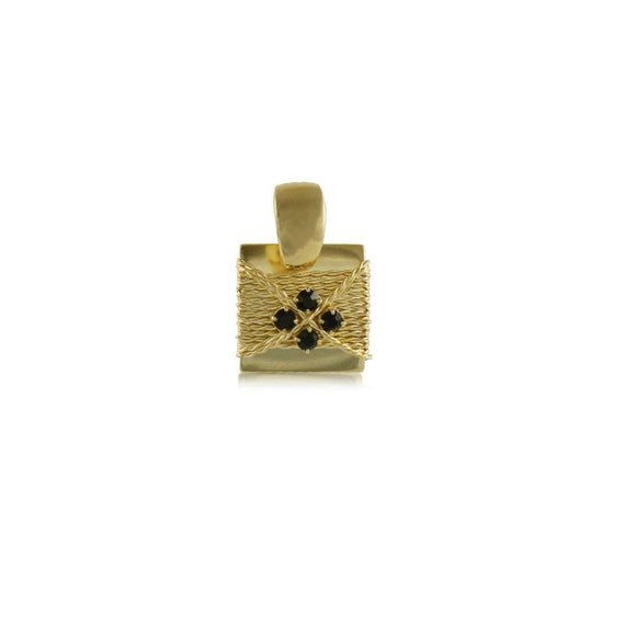 20010R 18K Gold Layered Pendant