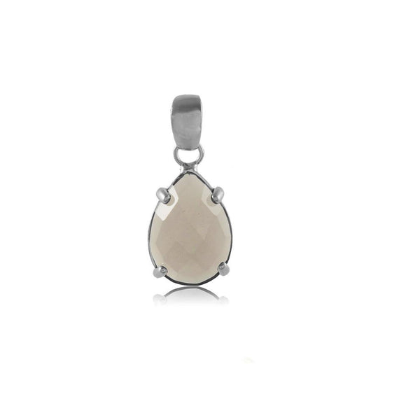 20121R 18K Gold Layered PSilver Pendant