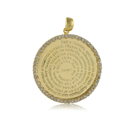 20184R 18K Gold Layered Pendant