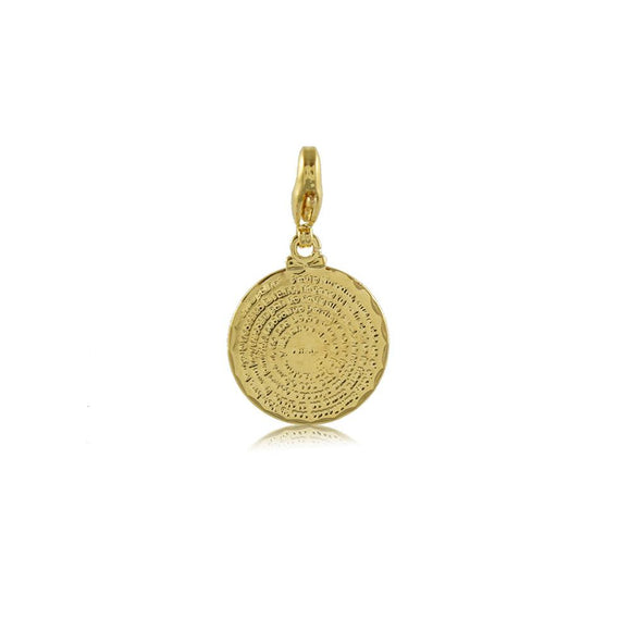 20244R 18K Gold Layered Pendant