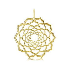 21308 18K Gold Layered Pendant