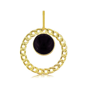 21917 18K Gold Layered Pendant