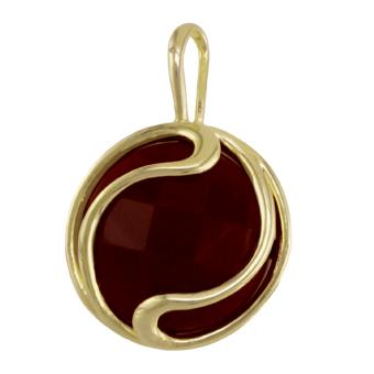 22416 18K Gold Layered Pendant