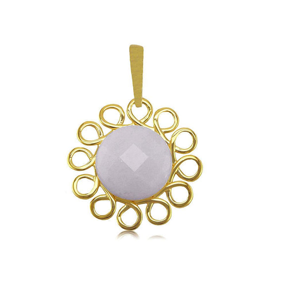 22431 18K Gold Layered Pendant