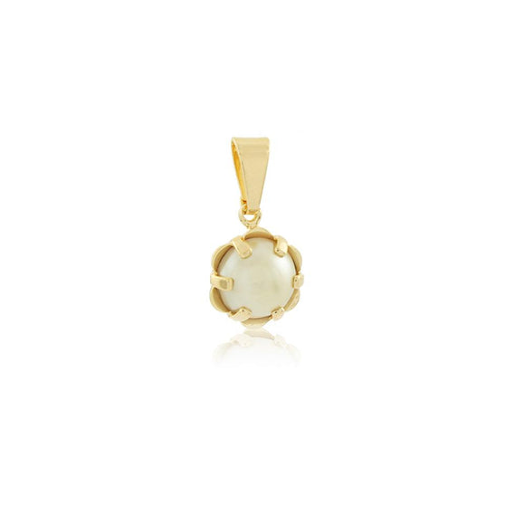 26004 18K Gold Layered Pendant