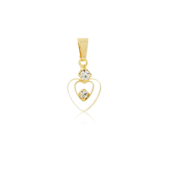 26033 18K Gold Layered Pendant