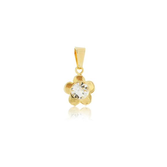 26039 18K Gold Layered Pendant
